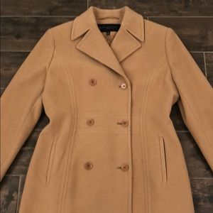 Kenneth Cole Reaction Double Breasted Wool Coat